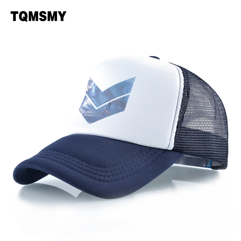 TQMSMY Surf Hats for men   Baseball     Cap   Outdoor sports women Snapback   Caps   Unisex Hip Hop bone Breathable mesh hat women's gorro
