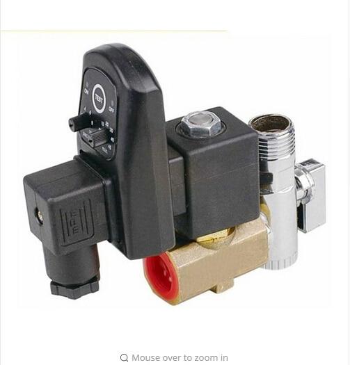 1/2 Electronic Drain Valve water solenoid valve бордюр lb ceramics катар коричневый 7 5x25