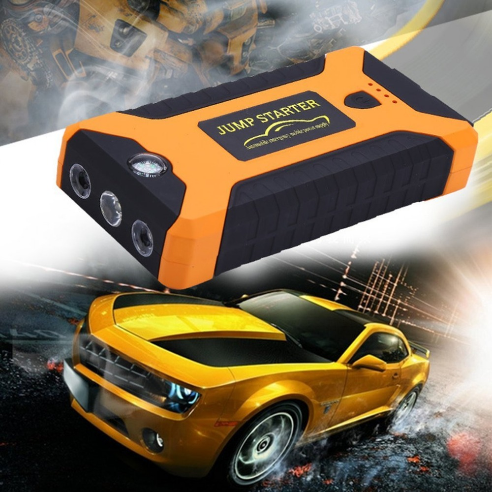 22000mAh Multifunction Jump Starter Battery Emergency Auto Power Supply 12V LCD Digital Engine Booster Power Bank for Laptop ...