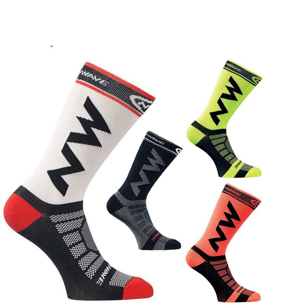 Breathable Adult Men Compression Long Socks Warm Football Socks Basketball Sports Anti Slip Cycling Climbing Running Socks