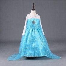 Enfants Princesse de Fille Robe Enfants Anna Elsa Costumes Robes pour les Filles La Neige Reine De Noël Enfant Filles Vêtements
