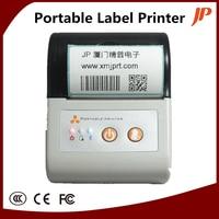 Portable 58mm Thermal Barcode Printer Qr Code Label Printer Receipt Printer Bluetooth Android Printer
