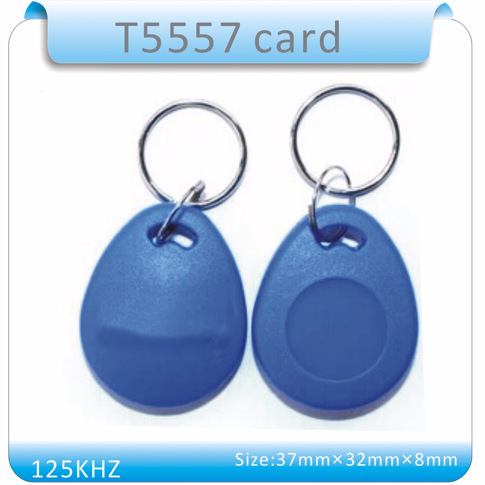 100PCS Re_Writable 125Khz Proximity RFID Tag 125Khz RFID T5557 Card Keyfobs For Hotel/Door Access control System100PCS Re_Writable 125Khz Proximity RFID Tag 125Khz RFID T5557 Card Keyfobs For Hotel/Door Access control System