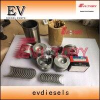 Engine rebuild kit for UD truck  FD6 FD6T piston+ piston ring set+cylinder liner+full cylinder head gasket kit+bearing kit