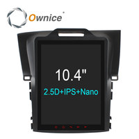 Ownice Vertical 10 4 Octa Core Android 6 0 2 Din Car DVD Player For Honda