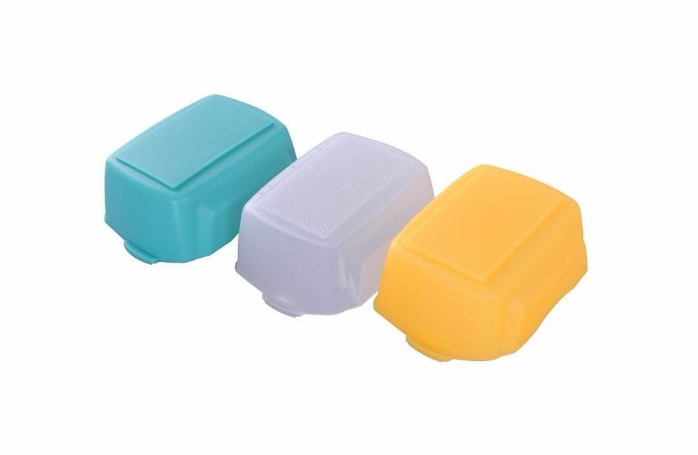 3 couleurs Flash Diffuseur pour NIKON SB-900 SB900 Softbox Meike MK-910 MK-900 930 II 950 II
