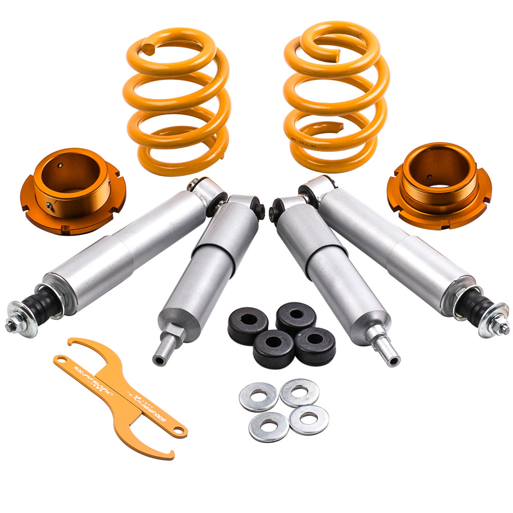 Coilover for VW T4 Transporter BUS CARAVELLE VAN ADJUSTABLE SUSPENSION LOWERING for Syncro, Multivan, Caravelle All Engine Sizes