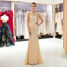 Forevergracedress Mermaid Prom Dresses 2019 Sleeveless