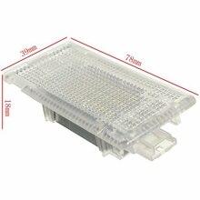 24 светодио дный Интерьер свет ног Чемодан багажнике лампа для освещения бардачка Белый для BMW E90 E92 E66 E61 E39 E60 E38