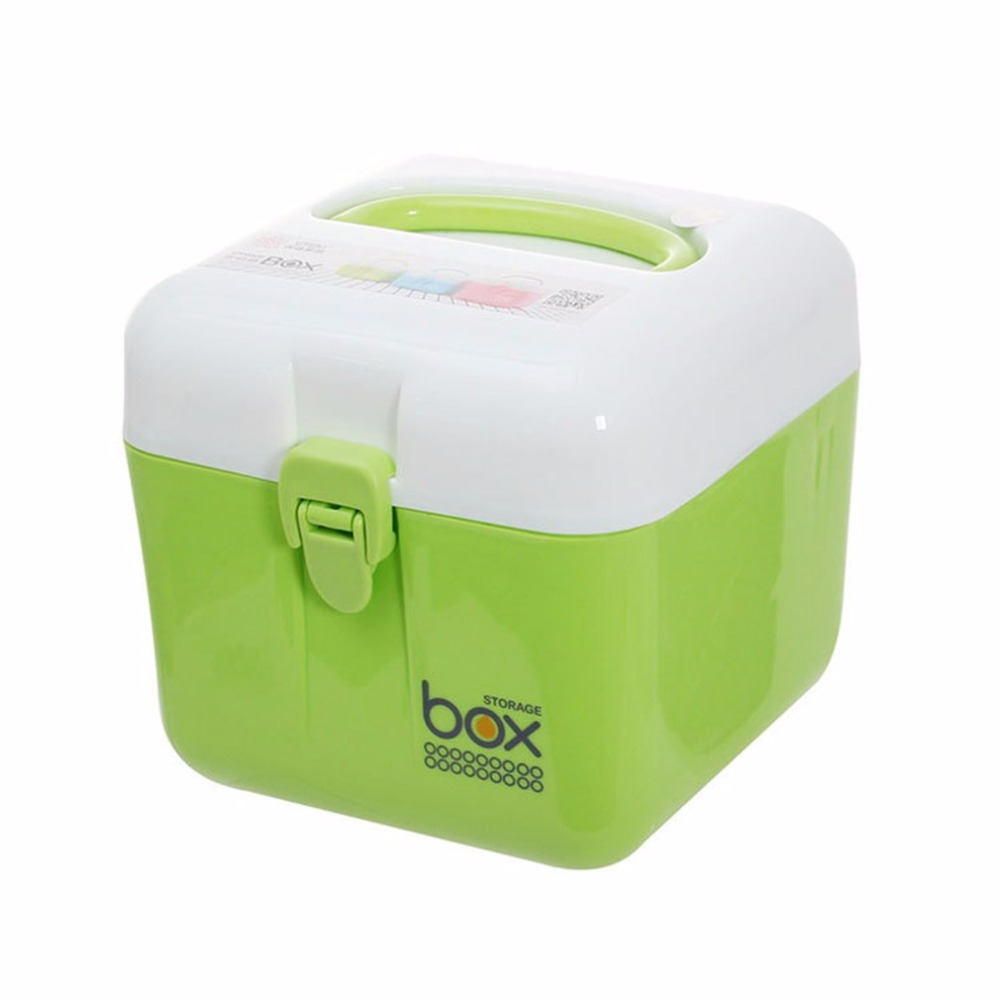 Multi-layer Large Multifunctional Portable Medicine Box Tool Case Plastic First Aid Drug Storage Boxes Household Medical Kit