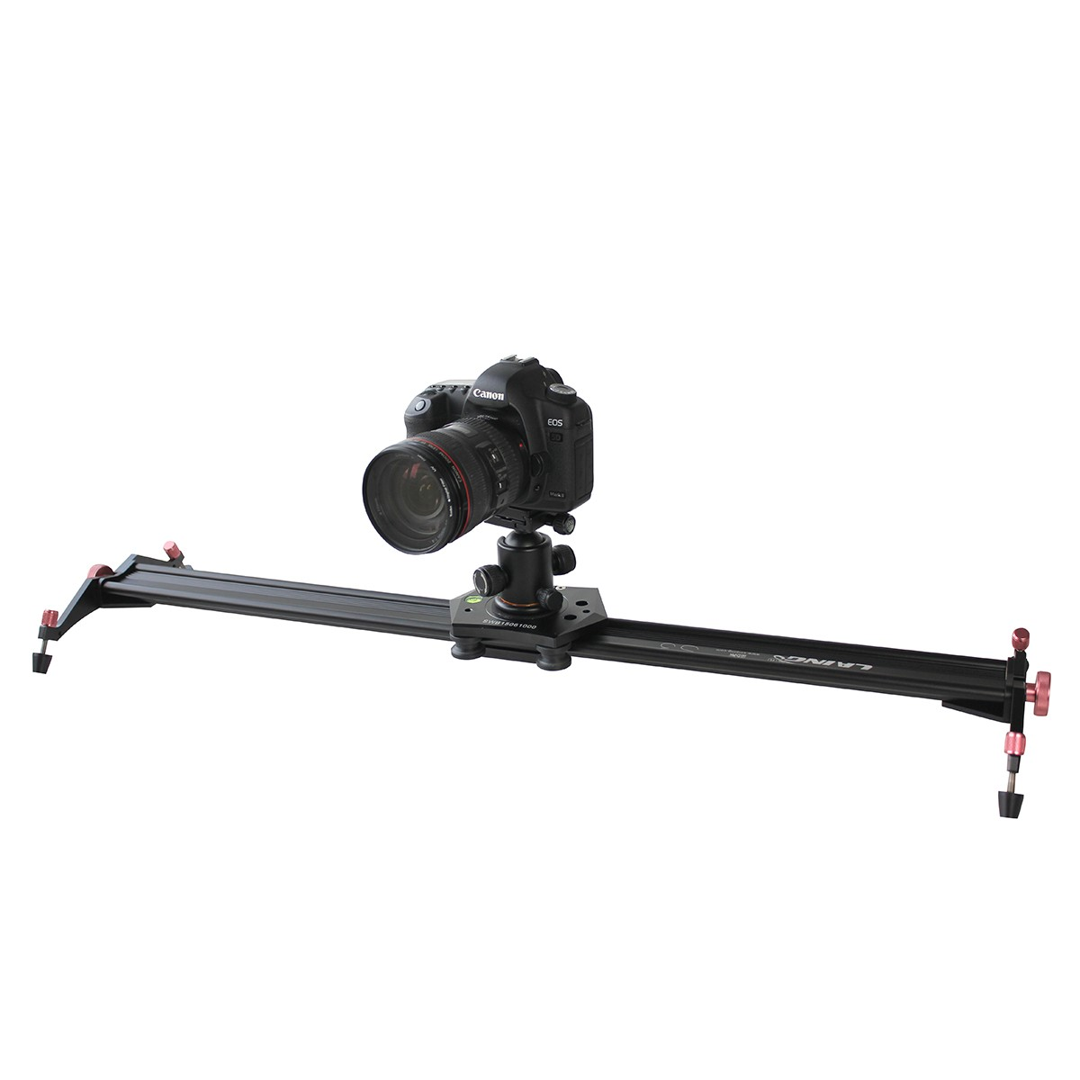 Laing S3 40 Inch DSLR Camera Slider Dolly Track Video Stabilizer with 22lb/10kg Load Capacity with 4 Damping Adjustable Bearings mb barbell mbevkl