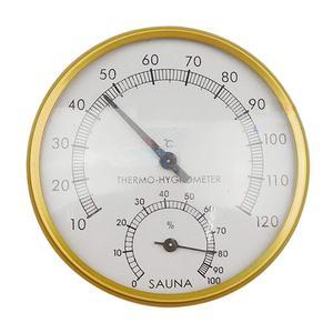 Sauna Thermometer Metal Dial H