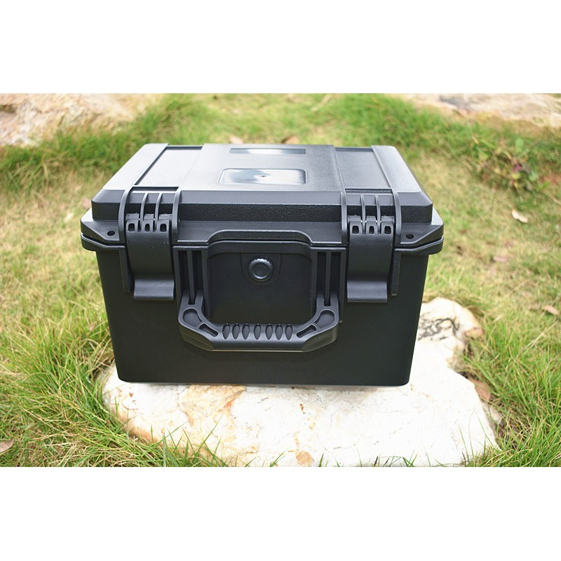 Tool Case ABS Tool Box Impact Resistant Sealed Waterproof Equipment Camera Safety Instrument ToolBox With Pre-cut Foam