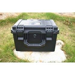 Werkzeug fall ABS werkzeug box Auswirkungen beständig wasserdicht versiegelt ausrüstung kamera Sicherheit Instrument ToolBox mit pre-cut schaum