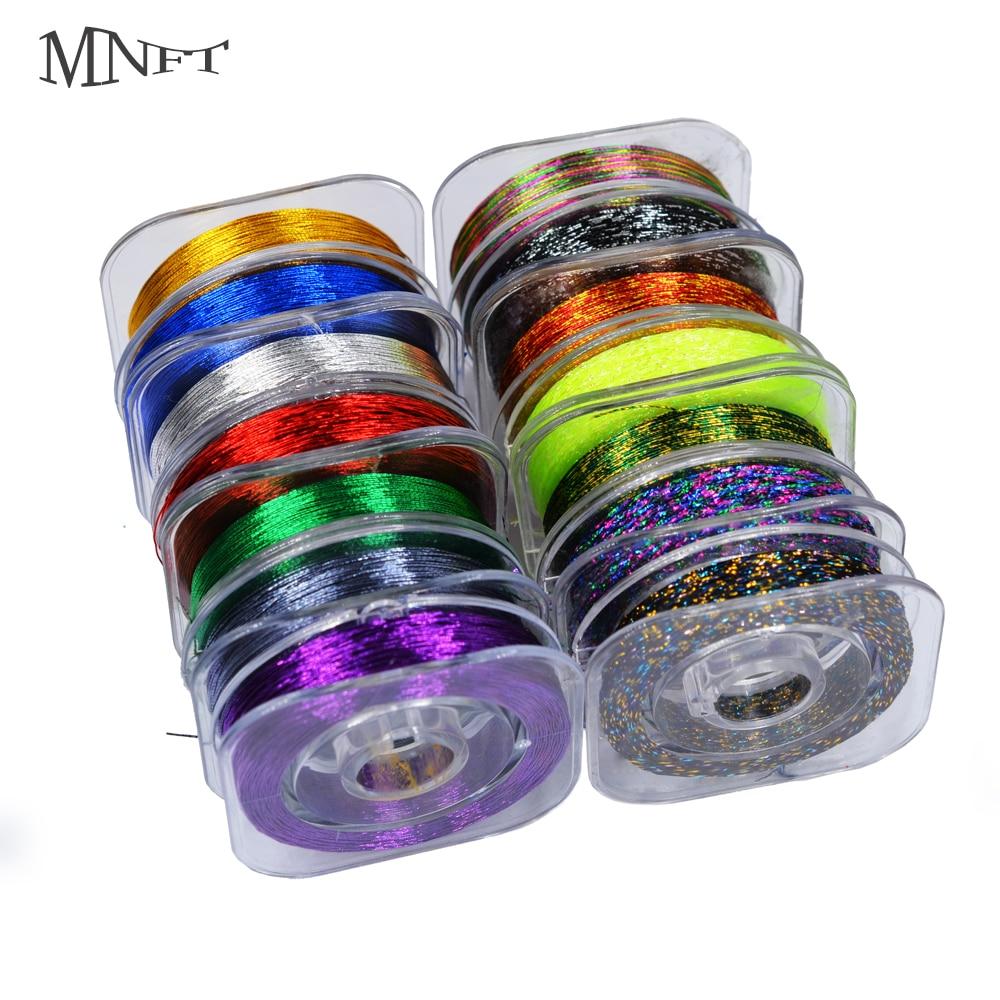 MNFT Rod Fishing-Guide-Ring Flash-Line Thread Bright Metallic Eyelet DIY 7pcs 14-Colors