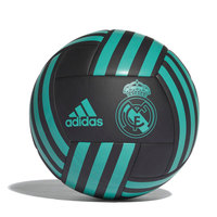 Real madrid 2018 unisex adidas balloon Balon Soccer Synthetic black turquoise real madrid official size 5