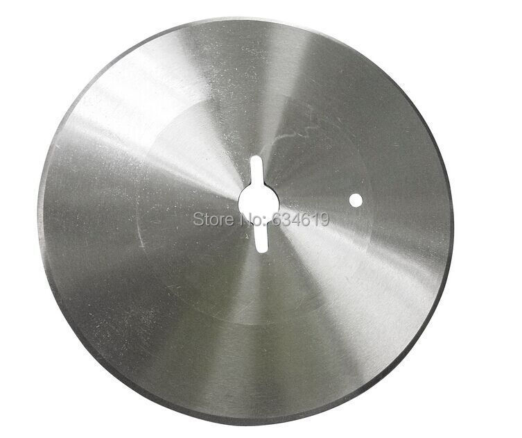 High quality 100mm diameter kebab slicer blades without teeth round blades for shawarma knife