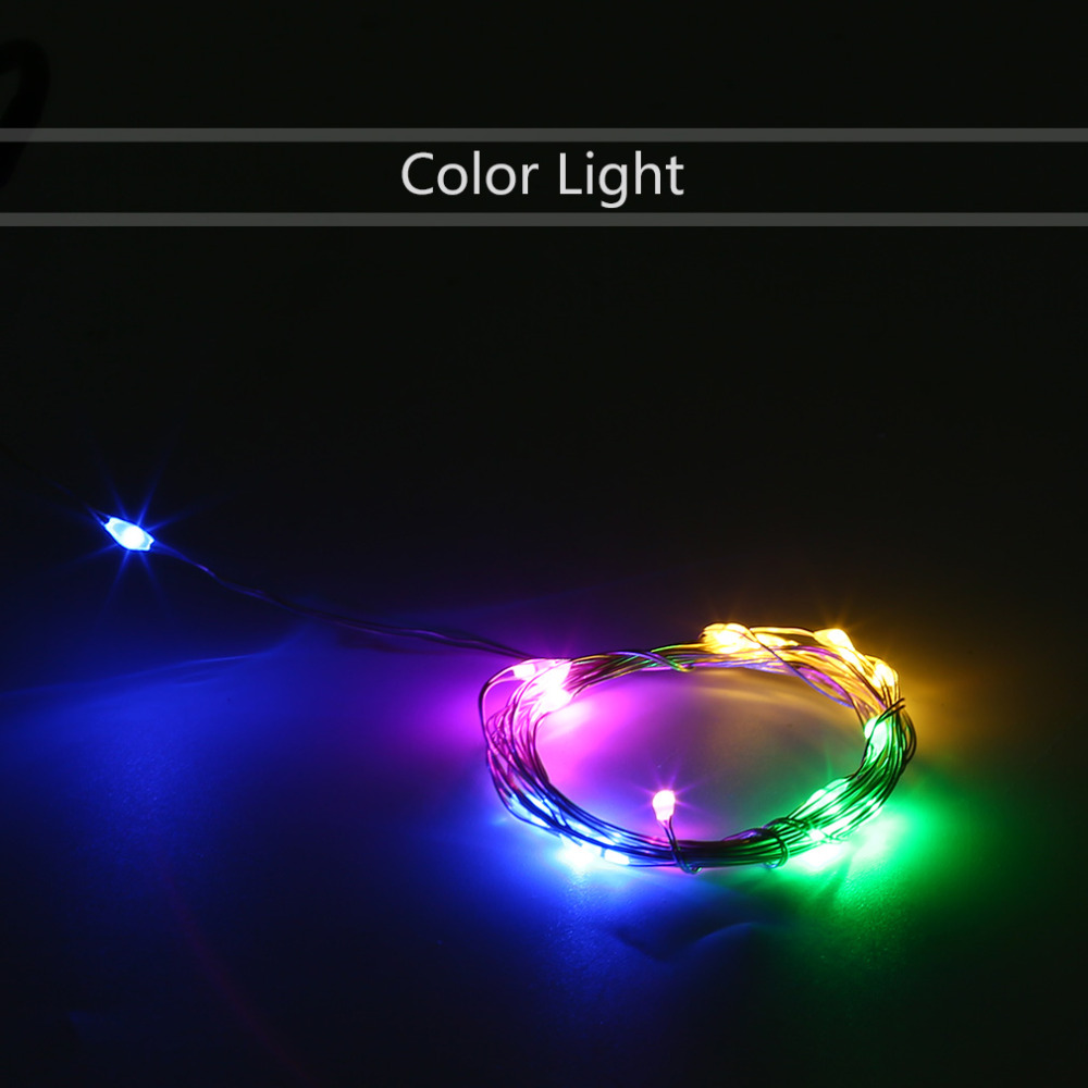 Waterproof Super Bright 10m 100led Silver Wire Christmas Wedding String Fairy Light Lamp Powered