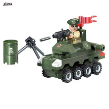 Military Series Military Scene Small Tanks Toy Children Educational Building Blocks Toy Kids Compatible With LEPIN Children Toys