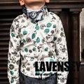 Lavensey 2017 Новые Весна И Осень Мальчиков Рубашки Высокого Класса Цветы Pattern Детская Одежда Мода Мальчиков Рубашки