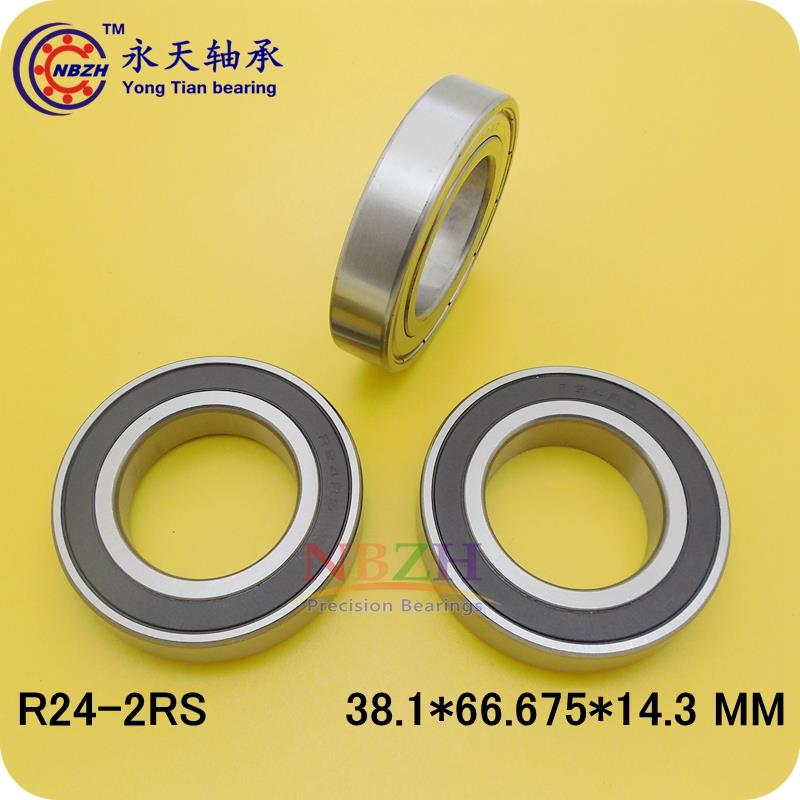Free shipping 1pcs R24-2RS EE13 RS deep groove ball bearing 38.1x66.675x14.3mm inch miniature bearing R24RS free shipping 10pcs mr62zz mr63zz mr74zz mr84zz mr104zz mr85zz mr95zz mr105zz mr115zz mr83zz miniature bearing