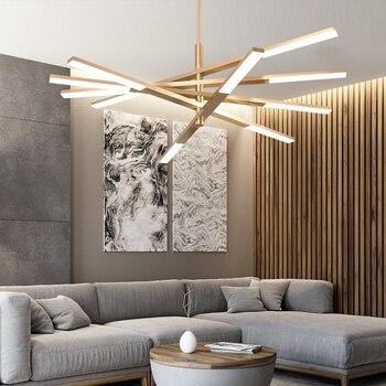 Скандинавские подвесные светильники, лампа для ресторана, современный вентилятор, креативный черный свет, Роскошная лампа для гостиной, сп...