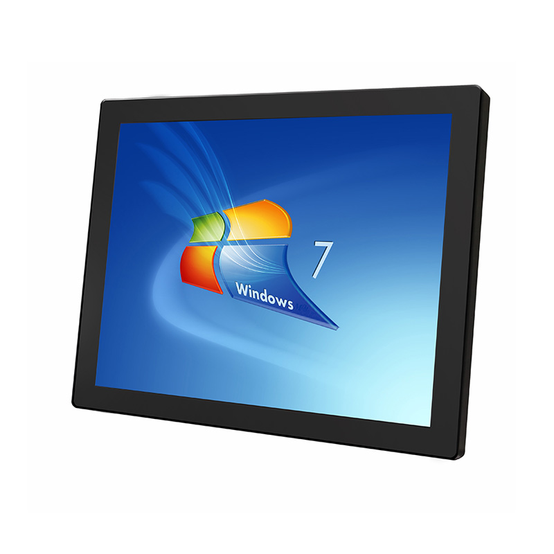 15 inch Industrial Capacitive Flat Touch Monitor Zero Bezel PCAP Touch Screen Monitor with VGA HDMI USB