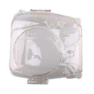 Image 2 - Przezroczysta twarda obudowa obudowa ochronna torba na aparat ochronny do aparatu fotograficznego Fujifilm Instax Mini 8/9 Mini 8/Mini8 +/9 Film natychmiastowy