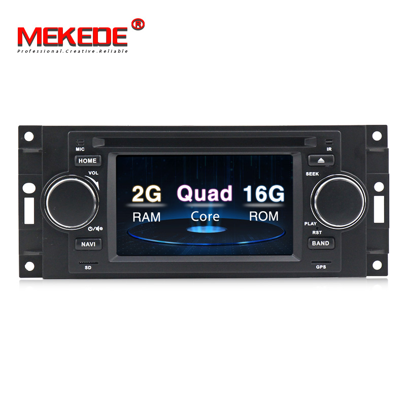 5 Android 8.0 Car DVD Player Radio GPS Navigation Stereo For Chrysler 300C PT Cruiser Dodge 2007 Caliber Jeep Grand Cherokee