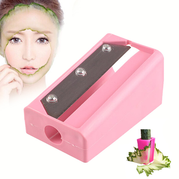 Hot Sale! magic mask beauty Vegetable Fruit Cucumber mask slicer cutter beauty device Kitchen Gadget Tool 131-0066 gadget
