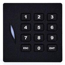 Kr102e клавиатура rfid-считыватель карт с wiegand 26bit/125 кГц Бесконтактный картридер ID Card Reader