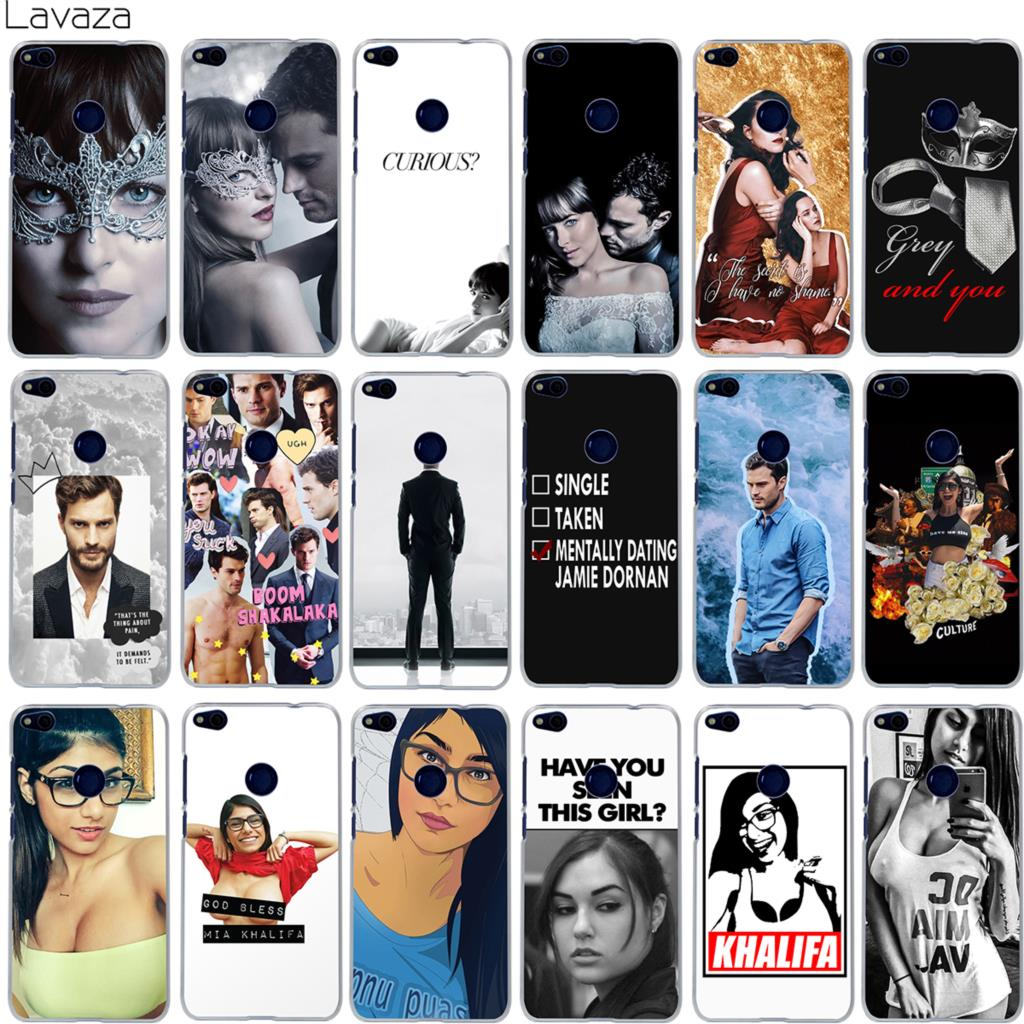 Lavaza Dakota Johnson Jamie Dornan Mia Khalifa Case for Huawei Honor Y6 10 9 8 7x 6a 6c Lite Pro 2017