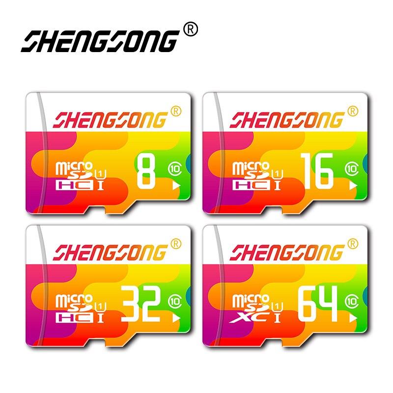 מכירה לוהטת class 10 כרטיס זיכרון 128 gb מיקרו SD כרטיס Microsd 64 gb 32 gb cartao דה memoria 16 gb 8 gb עט כונן פלאש usb פלאש