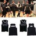 KPOP BTS Bangtan Meninos Camisas K-POP Álbum de Beisebol Casuais Colete Roupas de Algodão Camiseta T Tops Camisa Sem Mangas T-shirt