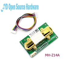1pcs CO2 센서 MH Z14A 적외선 이산화탄소 센서 모듈, 직렬 포트, PWM, 케이블로 아날로그 출력