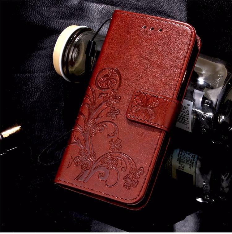 Cztery Liść Koniczyny Skrzynka dla Huawei P9 Okładka Huawei P9 Lite odwróć Wallet Case dla Huawei Hoesjes P9 Plus Telefon Coque PU skóra 8