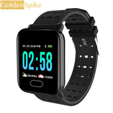 Bluetooth SmartWatch A6 Pedometer Health Sports relogios Smart watch Men Women fitness tracker For Android IOS pk GT88 DZ09 Q9(China)
