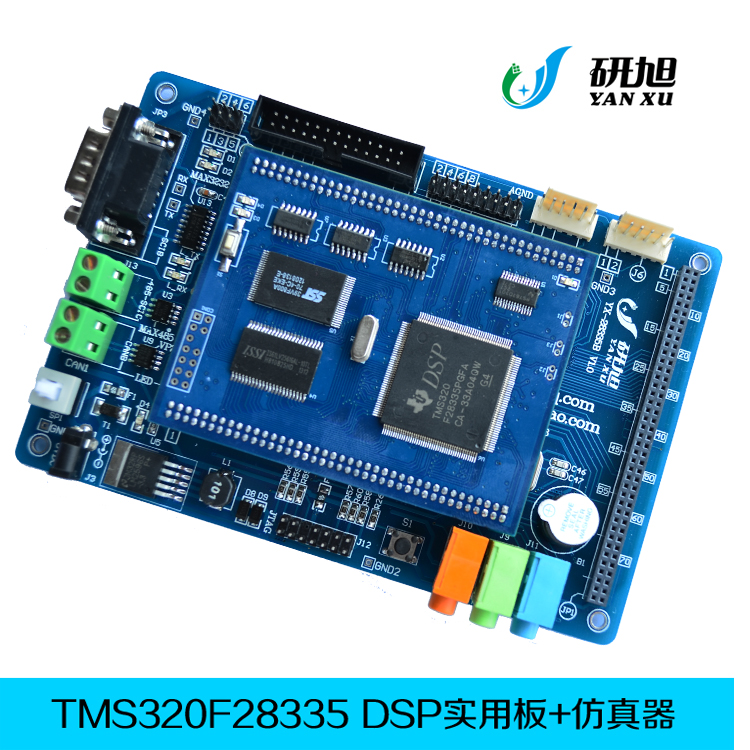 Tms320f28335 Development Board Dsp28335 Development Board Tms320f28335pgfa Sturdy Construction Air Conditioning Appliance Parts Home Appliance Parts