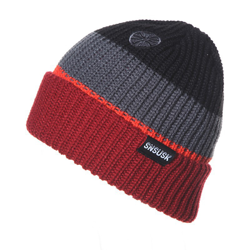ღ Ƹ̵̡Ӝ̵̨̄Ʒ ღ2017 New Winter gorros Brand SNSUSK Snowboard Winter ... 08fcf1295db6