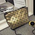 Bao Bao Saco famosa Marca Feminina Diamante Malha Dobre sacos de Mulheres Pequenas Bolsas Cadeia de Moda Sacos de Ombro Bolsa BaoBao 5*8