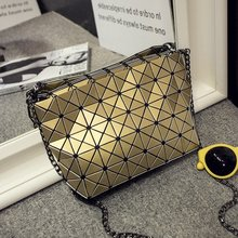 Berühmte Marke Weibliche Bao Bao Tasche Diamantgitter Falten taschen Kleine Frauen Handtaschen Kette Fashion Schultertasche BaoBao Bolsa 5*8