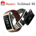 2018 NIEUWE Huawei TalkBand B5 Talk Band Bluetooth Smart Armband Wearable Sport Polsbandjes Touch AMOLED Screen Oproep Oortelefoon Band