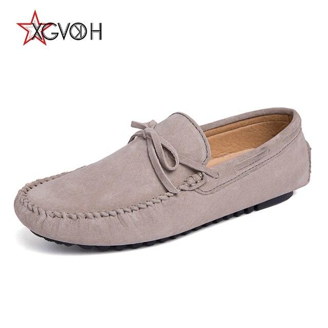 d0e956a9 Casuales de los hombres zapatos de conducción zapatos de cuero mocasines  para hombre mocasines de conducción