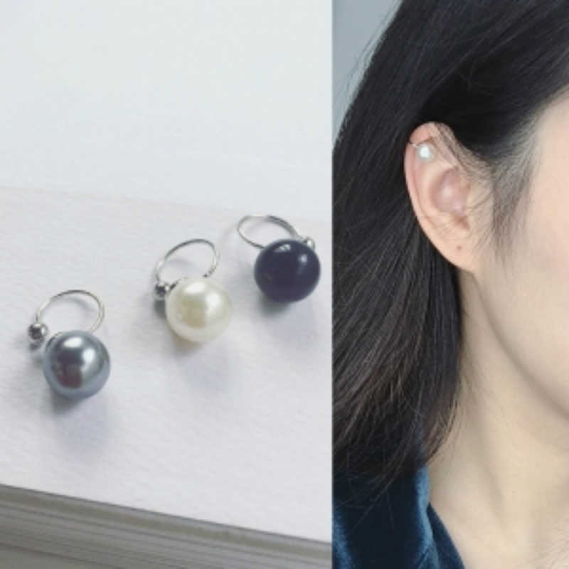 1pcs Korean Version Of The U-shaped Imitation Pearl Ear Clip Temperament Small Exquisite Lovely Earrings Female Wholesale