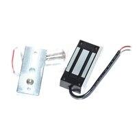 Elektrische Magnetische Türschloss 12V 24V 60kg Mini DC EM Schlösser Haltekraft Elektromagnetische für Tür Eintrag access Control-in Elektroschloss aus Sicherheit und Schutz bei