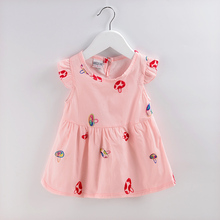 4Style Summer Toddler Girls Dress Kids Newborn Baby 1-4Years Princess Dresses Baby Girls Dot Dress Costume Infant