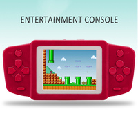 2.5'' Portable Video Game Player 268 8 bit Classic Games Gamepad Console Battery 2