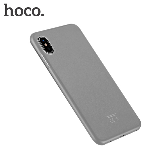 detailed look 824d3 f1d4f US $4.9 |HOCO for iPhone X Frosted Protective Case Soft TPU Cover Ultra  Thin Luxury Premium cases Matte Shell Phone Protection for iPhone-in ...