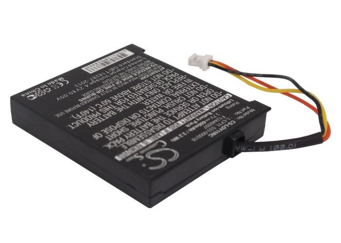 Cameron Sino 600mAh Battery 533-000018, F12440097, L-LY11 for Logitech  G930, Gaming Headset G930, Headset G930, MX Revolution