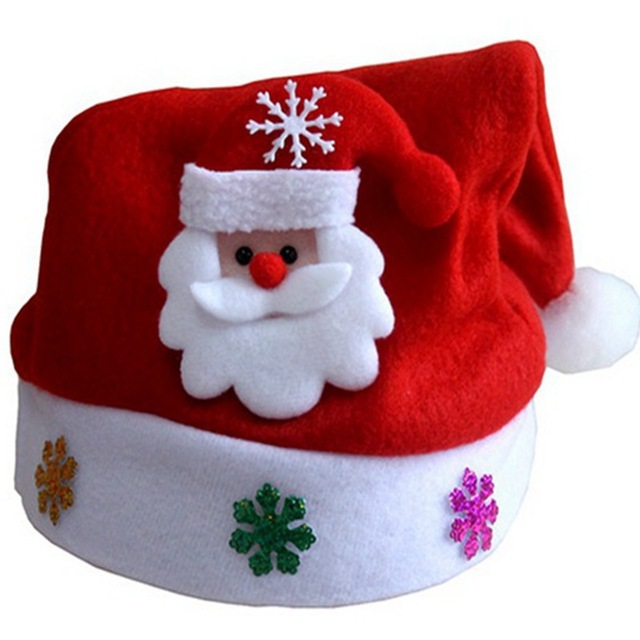 8fe3e4cbe7987 Misaya Kid Style Christmas Hat Children Santa Claus Reindeer Snowman Cute  Party Cap Children s Christmas Gift Hat